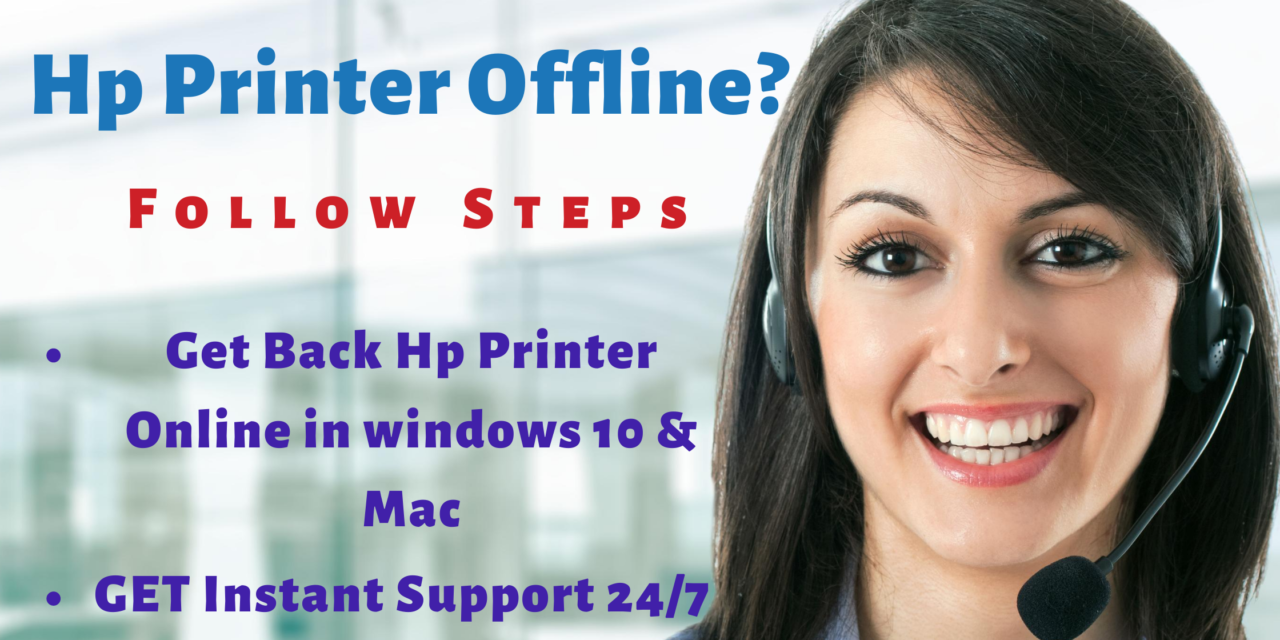 Why My Hp Printer Offline
